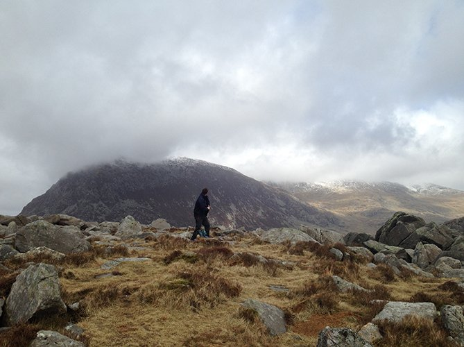 guided hikes across the carneddau