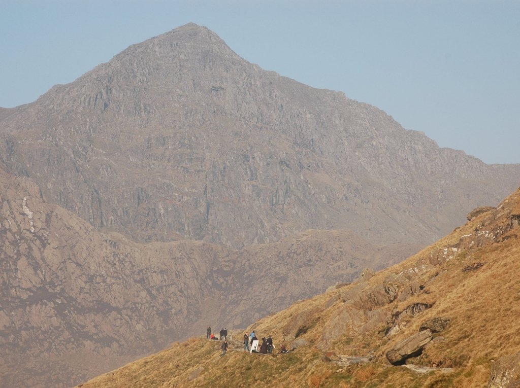 guided hikes up snowdon