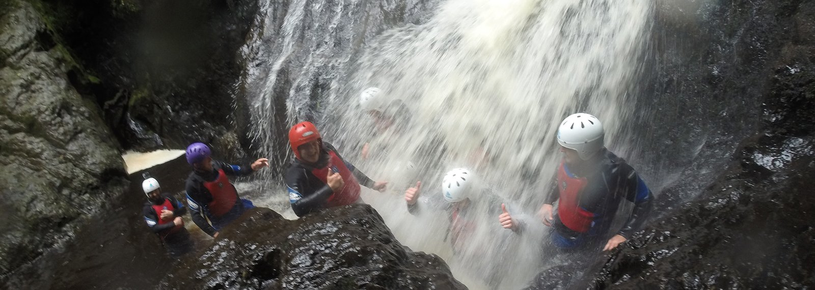 canyoning snowdonia north wales