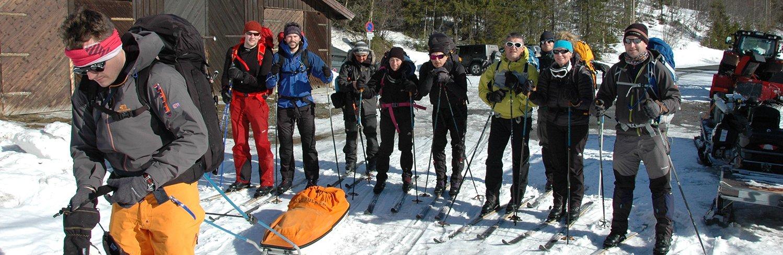 heroes of telemark nordic ski tour