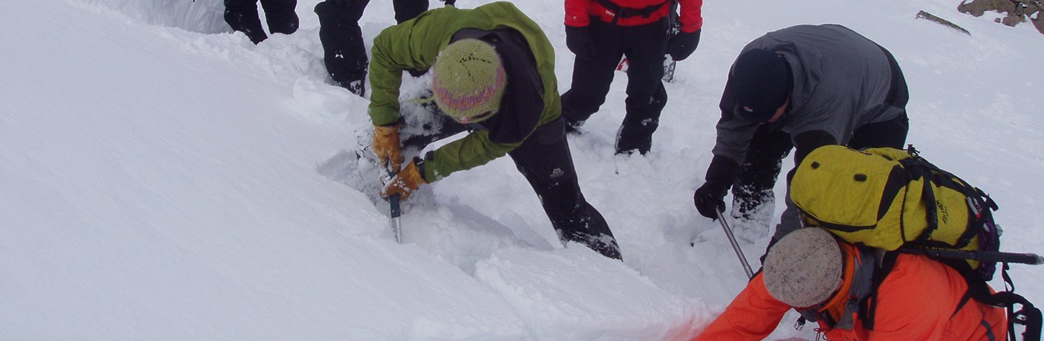 digging hasty pit avalanche awareness
