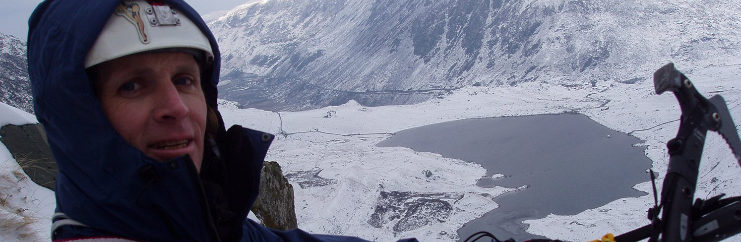 winter climbing snowdonia